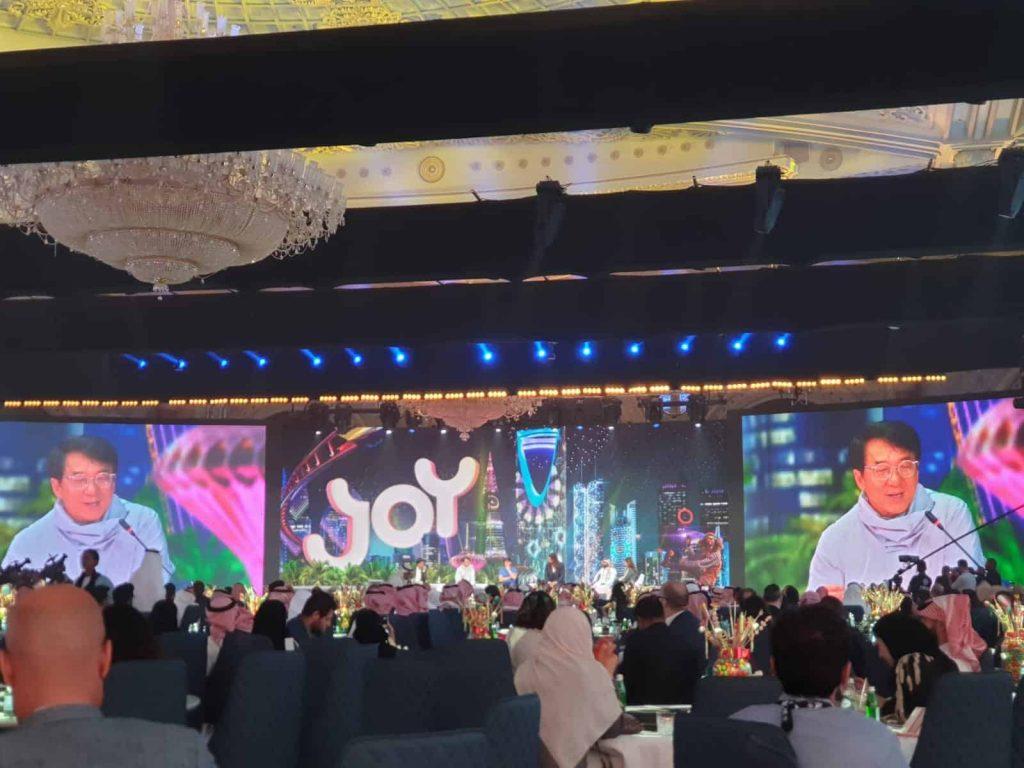 Famous actors speaking at JOY Forum event in Saudi Arabia